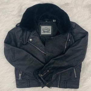 Levi's Leather Bomber